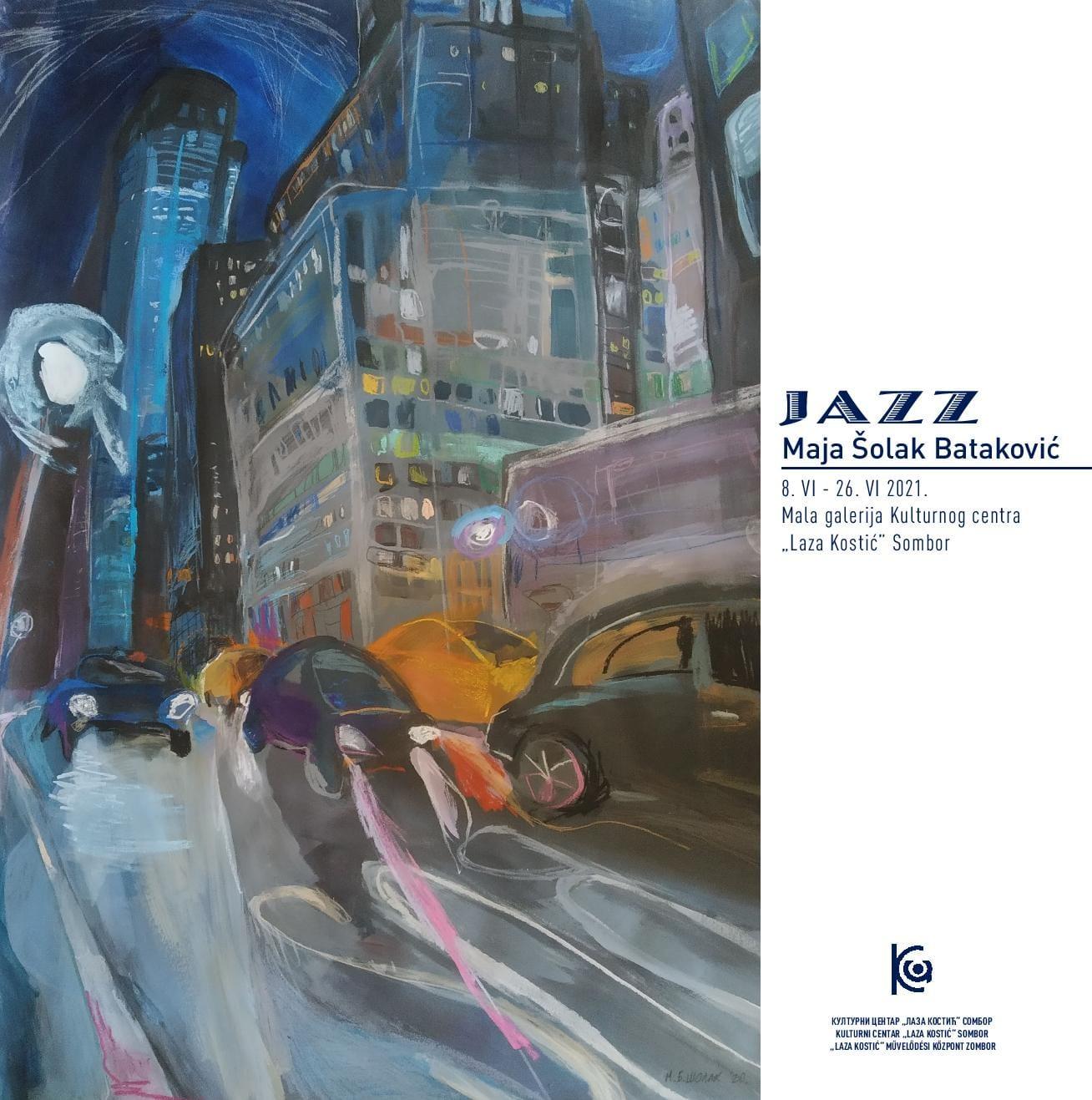 """""""Jazz"""" - Samostalna izložba crteža Maje Šolak Bataković"""