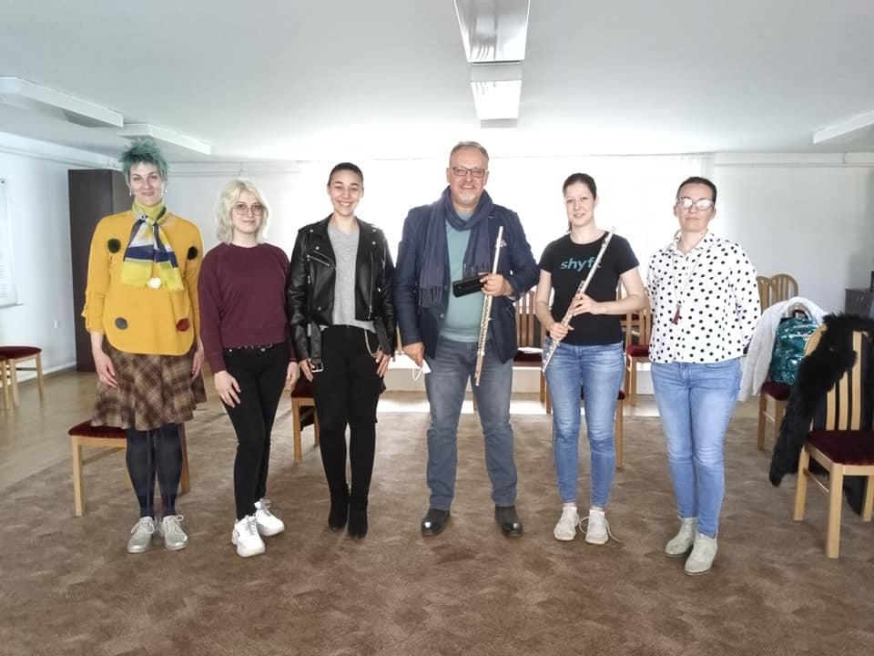 Majstorski kurs flaute - prof. Strašo Temkov