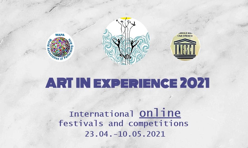 """Међународно такмичење """"Art in Experience 2021"""""""
