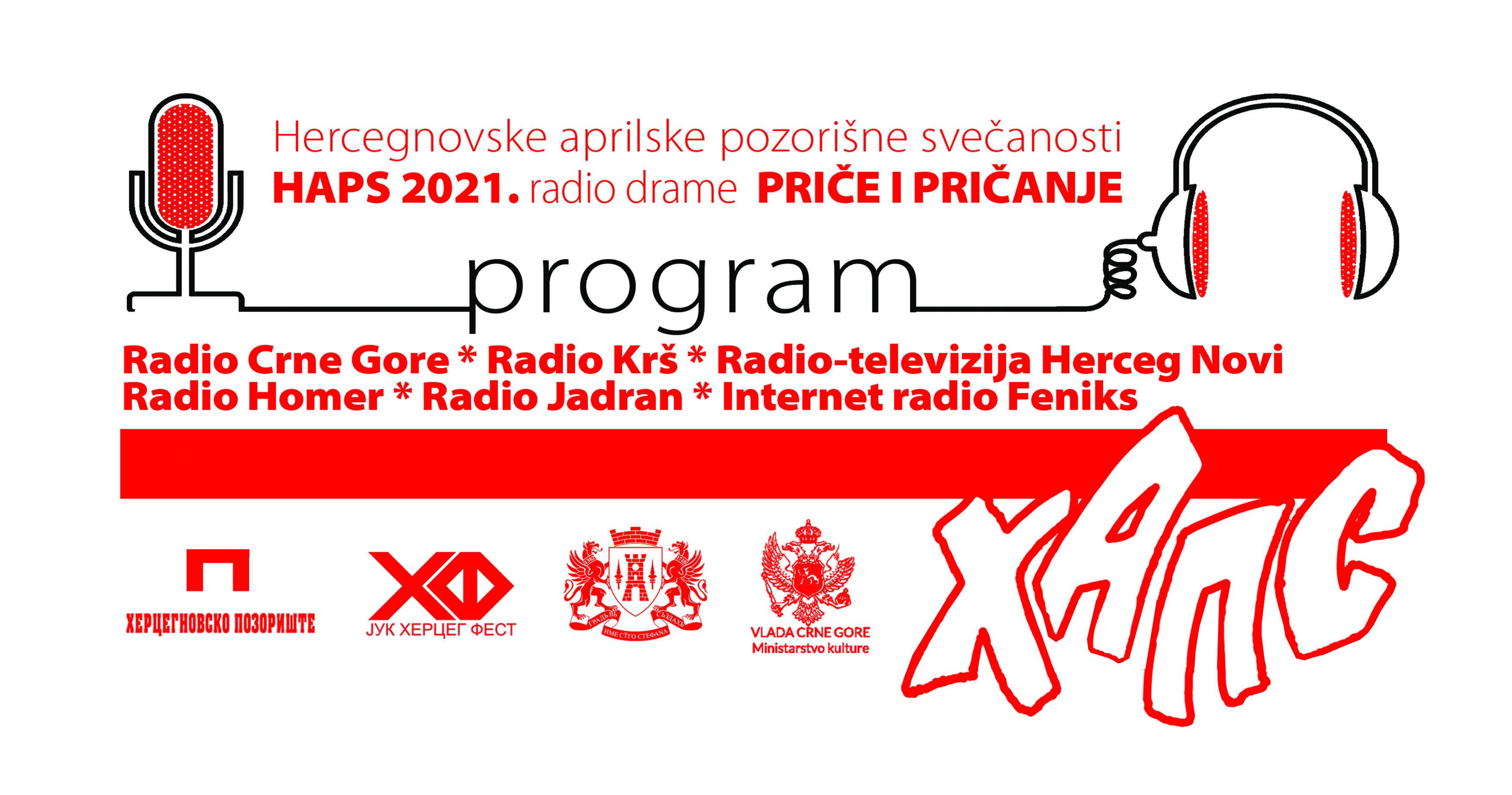 """Radio drama """"Galeb"""" na Hercegnovskim aprilskim pozorišnim svečanostima 2021."""