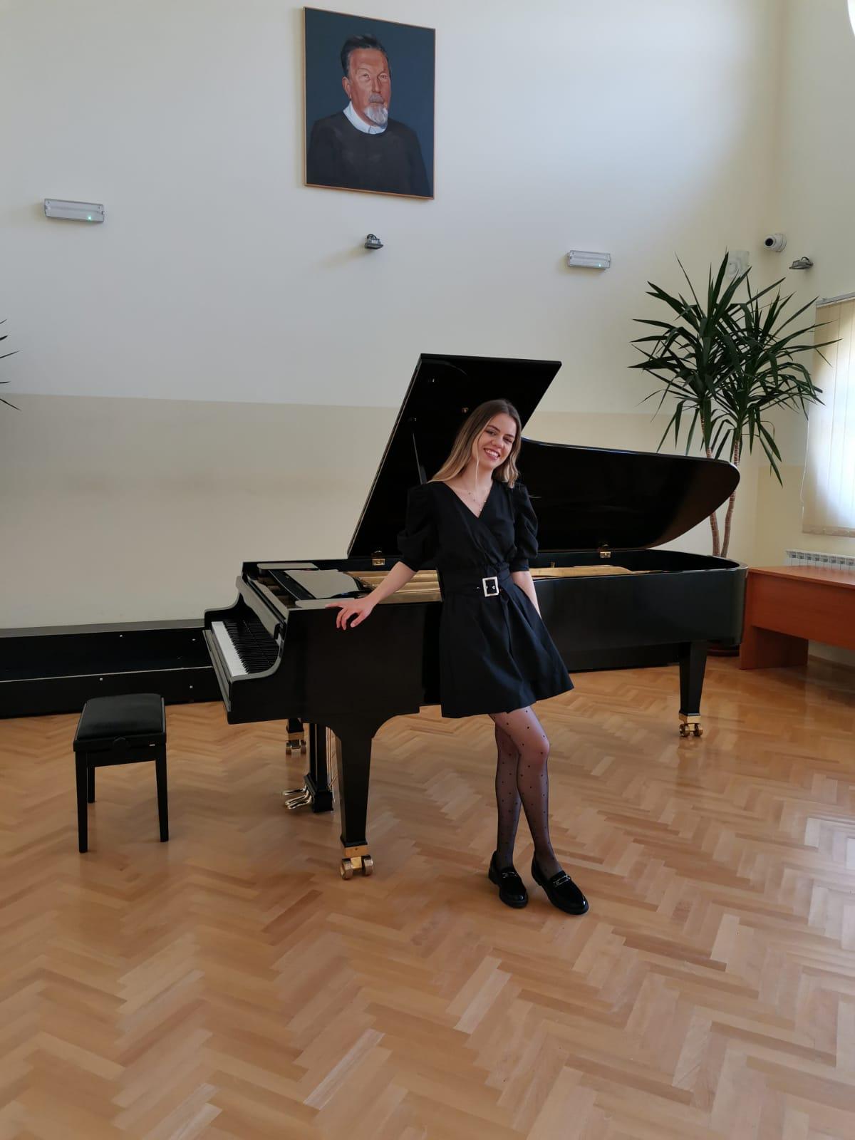 Кoncerti Milice Tadić, studenta Akademije umjetnosti Univerziteta u Banjoj Luci